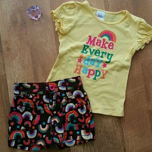 Happy rainbow outfit